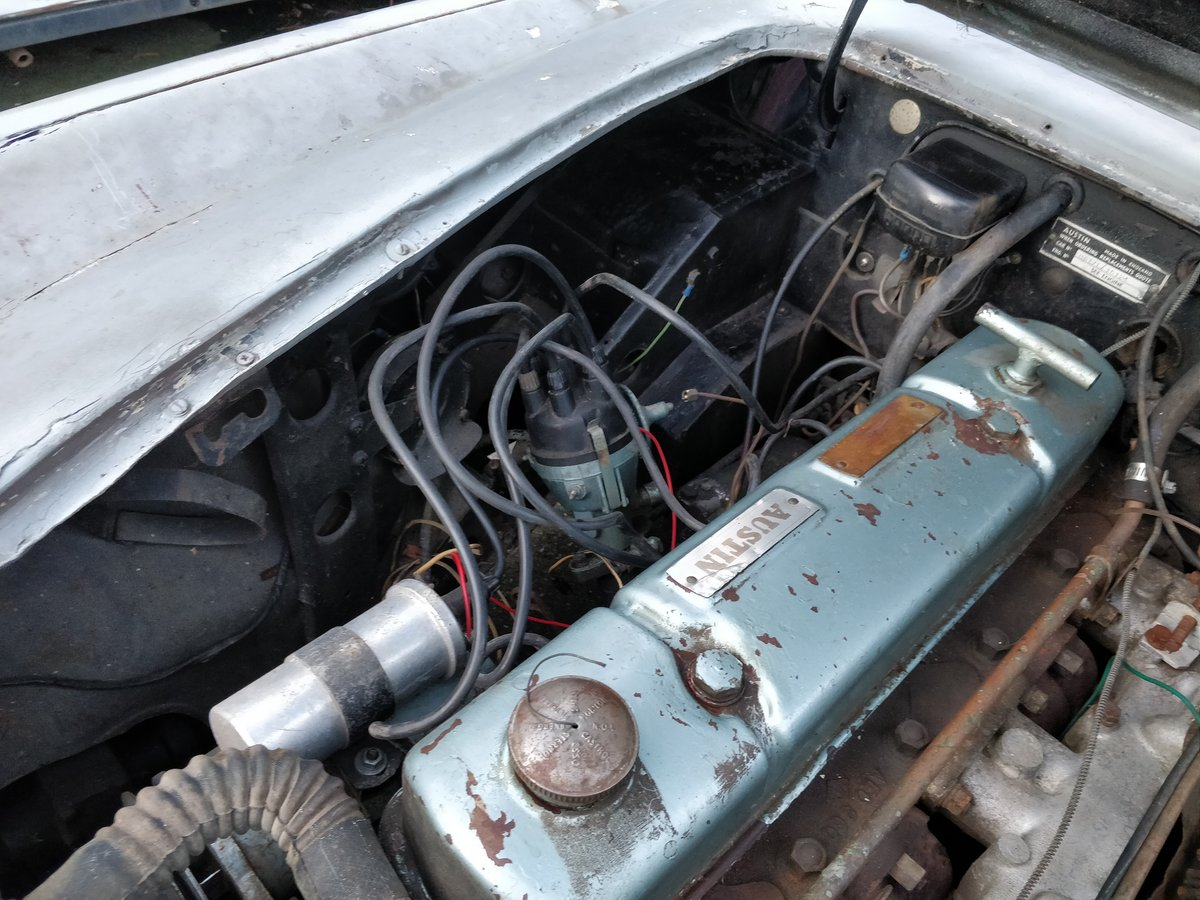 1962 Austin Healey  MKII '62 lhd  for restauration For Sale (picture 6 of 6)