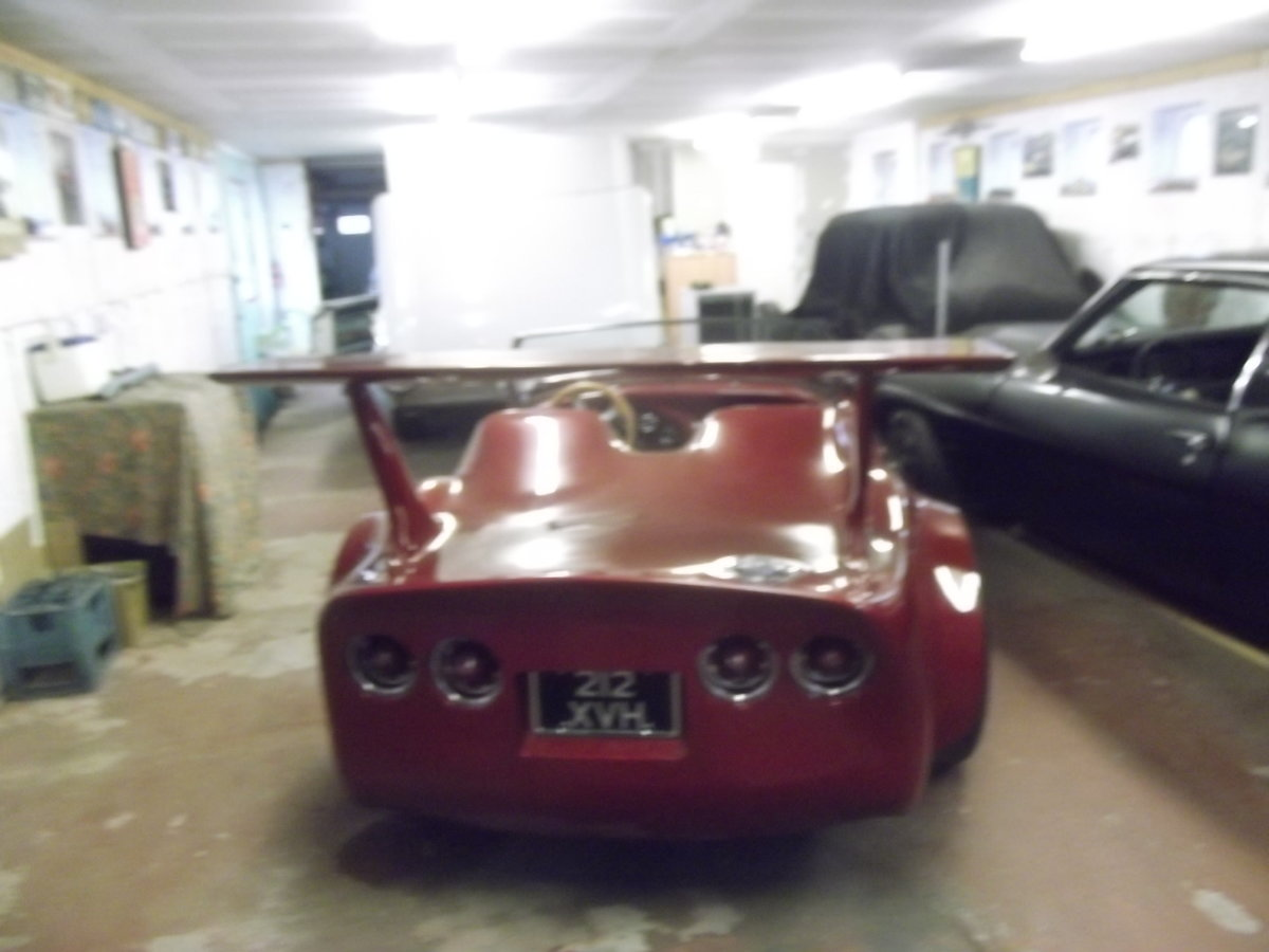 Heavily Customized 1955 Austin Healey 100, 100/4, BN1, LHD For Sale (picture 5 of 6)