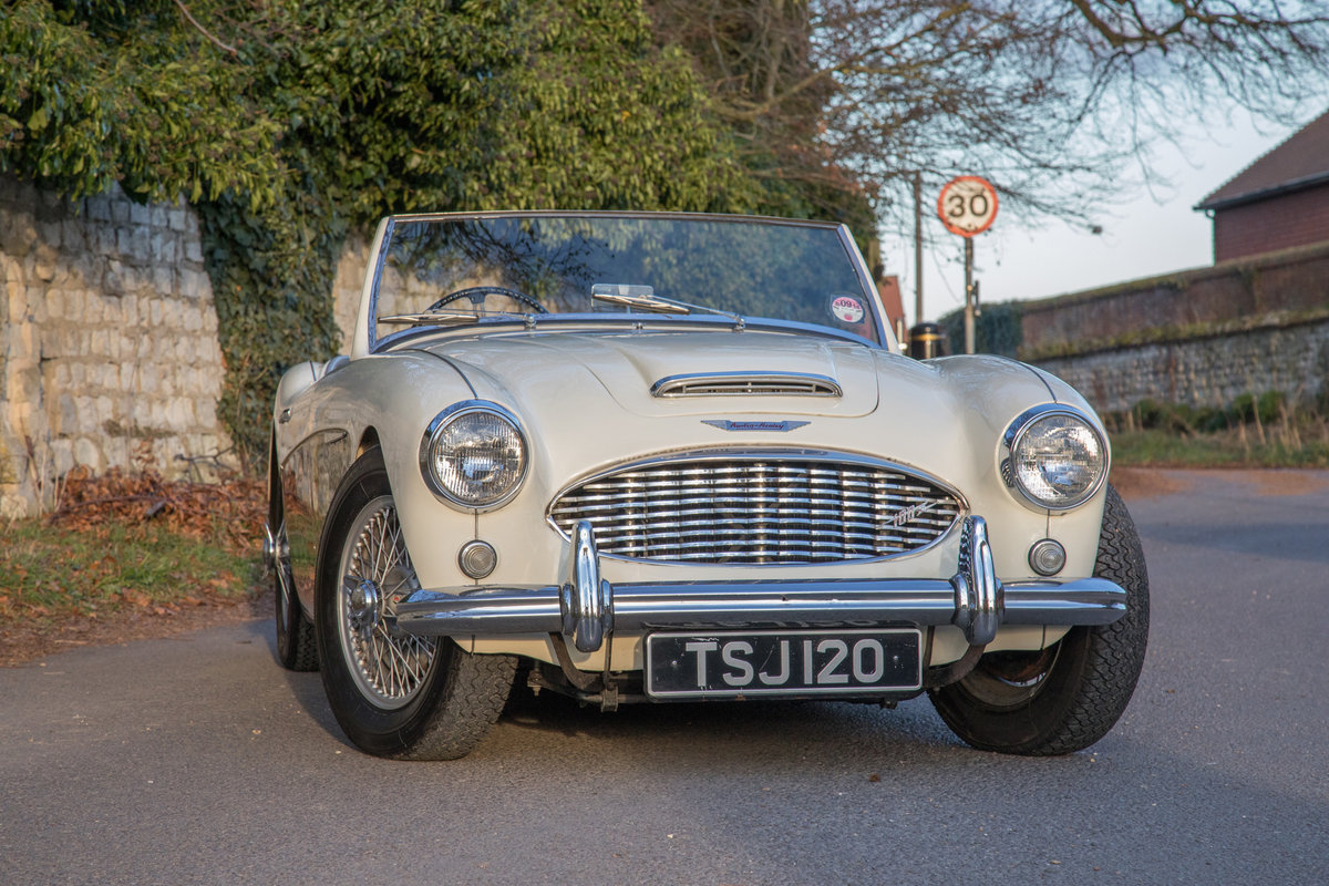 1957 Austin Healey 100/6 BN4 SOLD (picture 1 of 6)