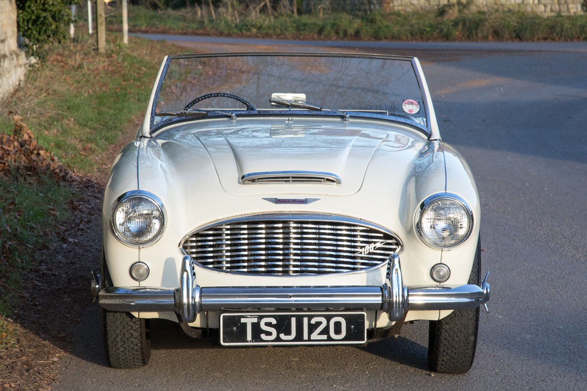 1957 Austin Healey 100/6 BN4 SOLD (picture 2 of 6)