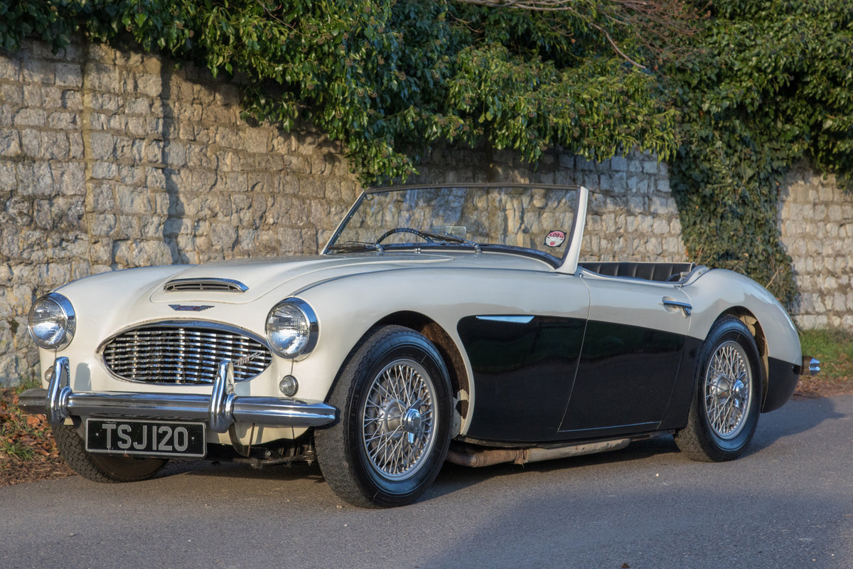 1957 Austin Healey 100/6 BN4 SOLD (picture 3 of 6)