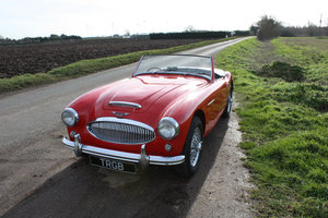 1962 AUSTIN HEALEY 3000 MKII FOUR SEATER. EXTENSIVELY RESTORED For Sale