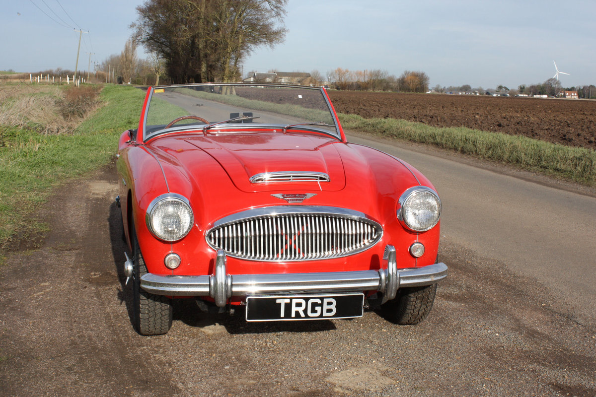 1962 AUSTIN HEALEY 3000 MKII FOUR SEATER. EXTENSIVELY RESTORED For Sale (picture 6 of 6)