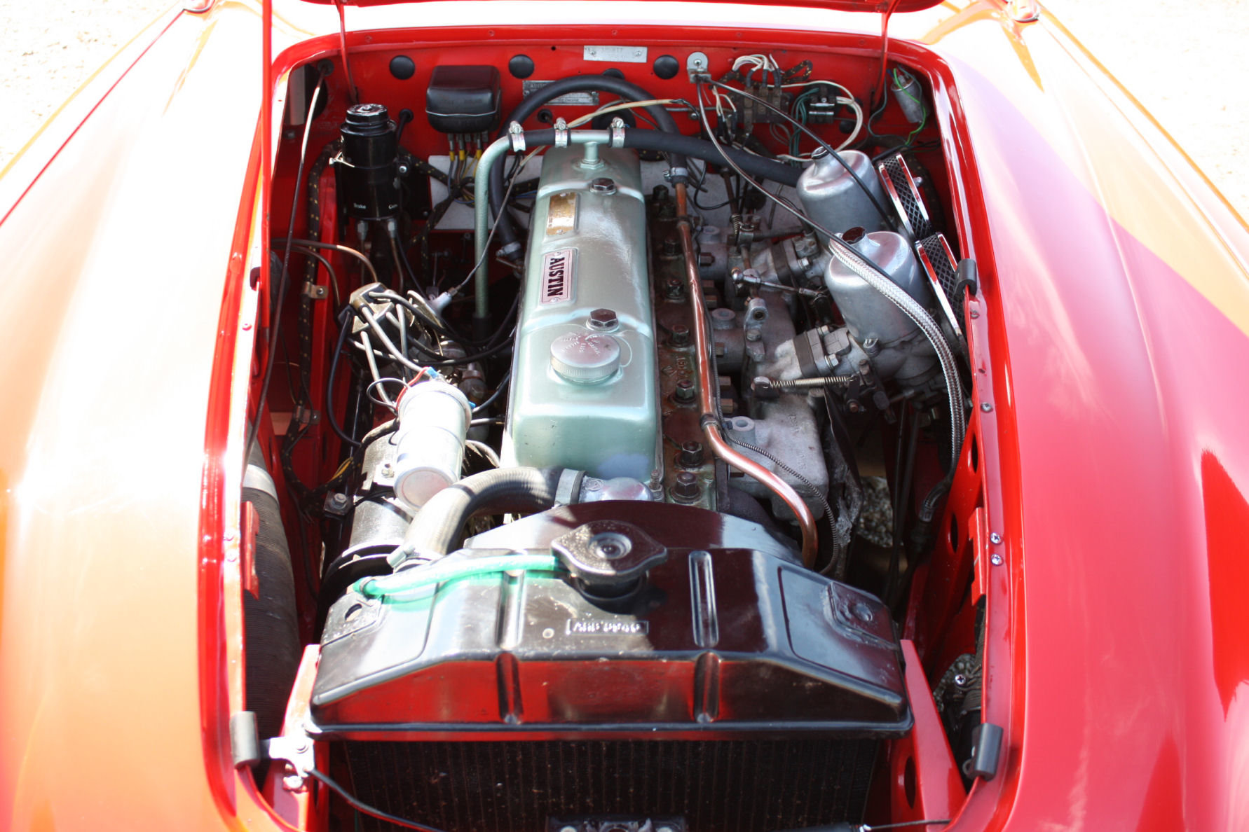 1962 AUSTIN HEALEY 3000 MKII FOUR SEATER. EXTENSIVELY RESTORED For Sale (picture 3 of 6)