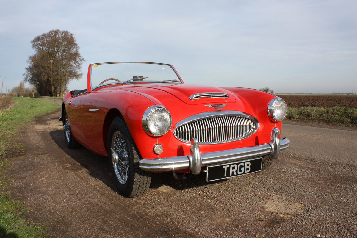 1962 AUSTIN HEALEY 3000 MKII FOUR SEATER. EXTENSIVELY RESTORED For Sale (picture 1 of 6)