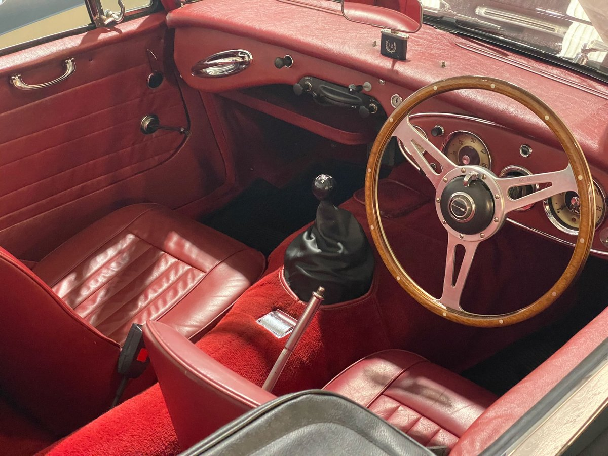 1963 Austin Healey 3000 MkIIA BJ7 | Restored 2018 & Upgraded SOLD (picture 6 of 6)