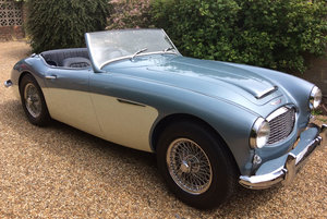 Austin Healey 100/6. Early Longbridge RHD home market car.