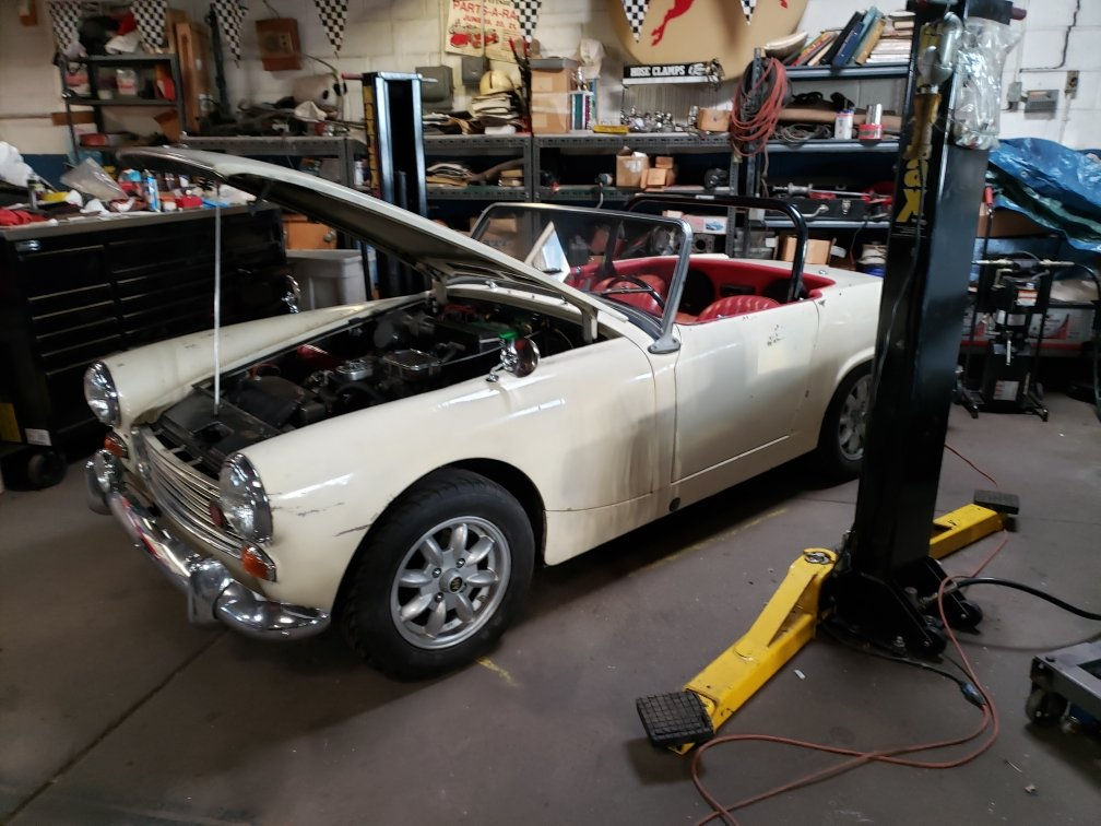 1964 Austin Healey Sprite  For Sale (picture 1 of 6)