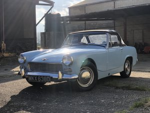 Austin Healey Sprite for sale. Heritage shell restoration.