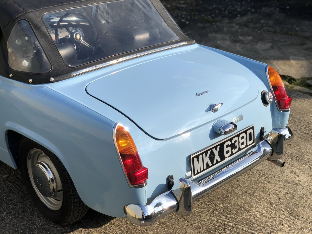 1966 Austin Healey Sprite for sale. Heritage shell restoration. For Sale (picture 3 of 6)