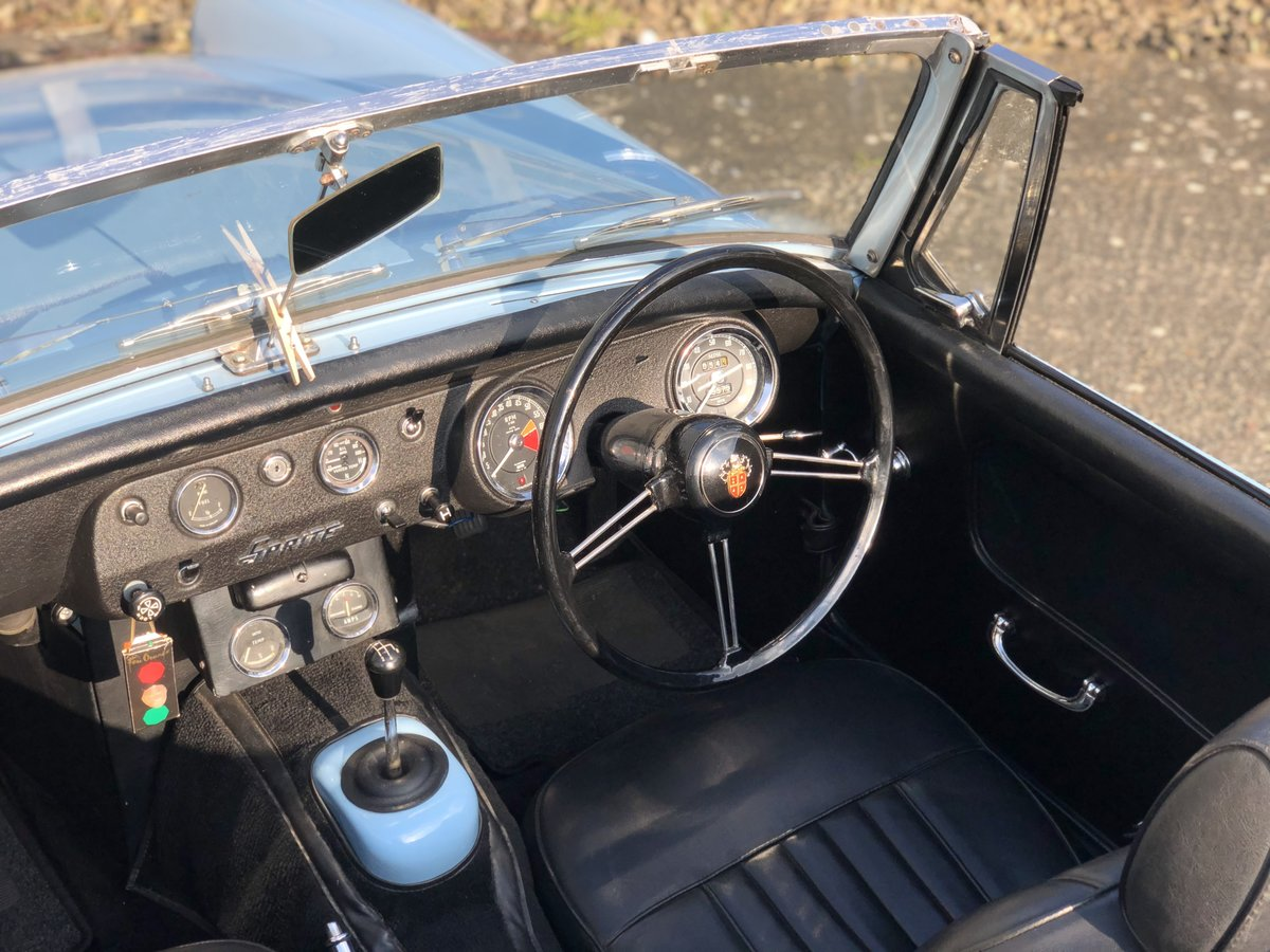 1966 Austin Healey Sprite for sale. Heritage shell restoration. For Sale (picture 6 of 6)