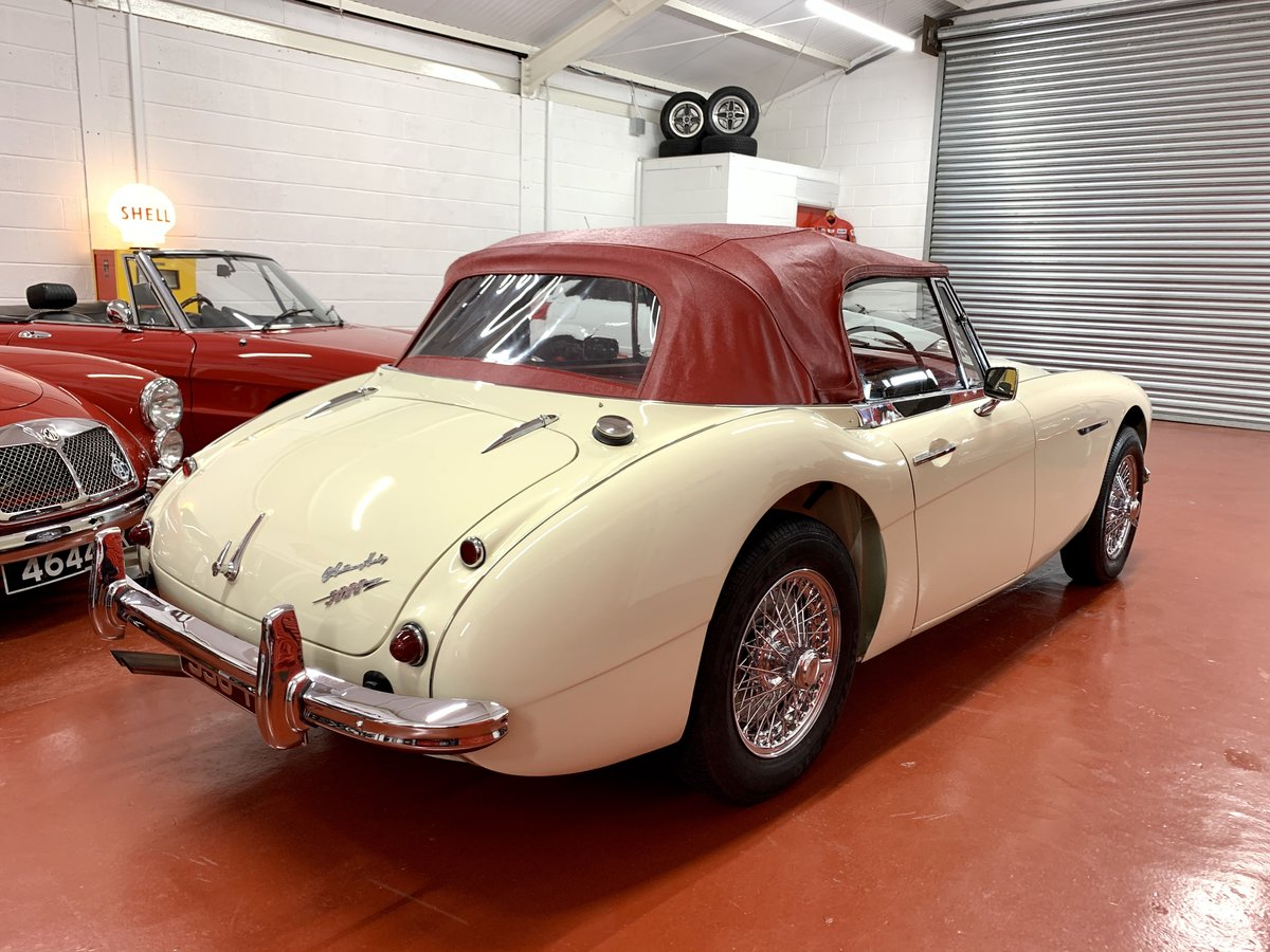 1962 Austin Healey 3000 MkII BJ7 // Full Photographic Restoration For Sale (picture 2 of 6)