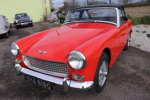 1969 Rare Healey Sprite, 1275cc