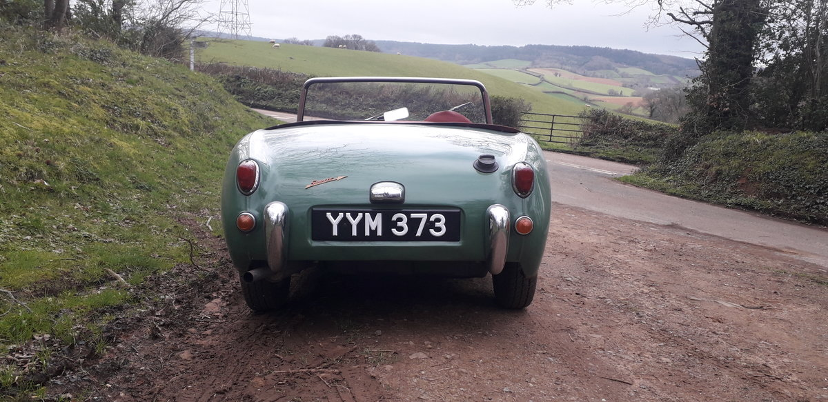 1960 Austin Healey Frogeye Sprite For Sale (picture 5 of 6)