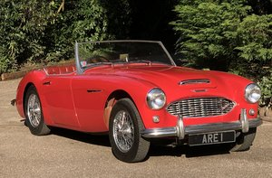 1960 AUSTIN HEALEY 3000 Low mileage overdrive with works hard top For Sale