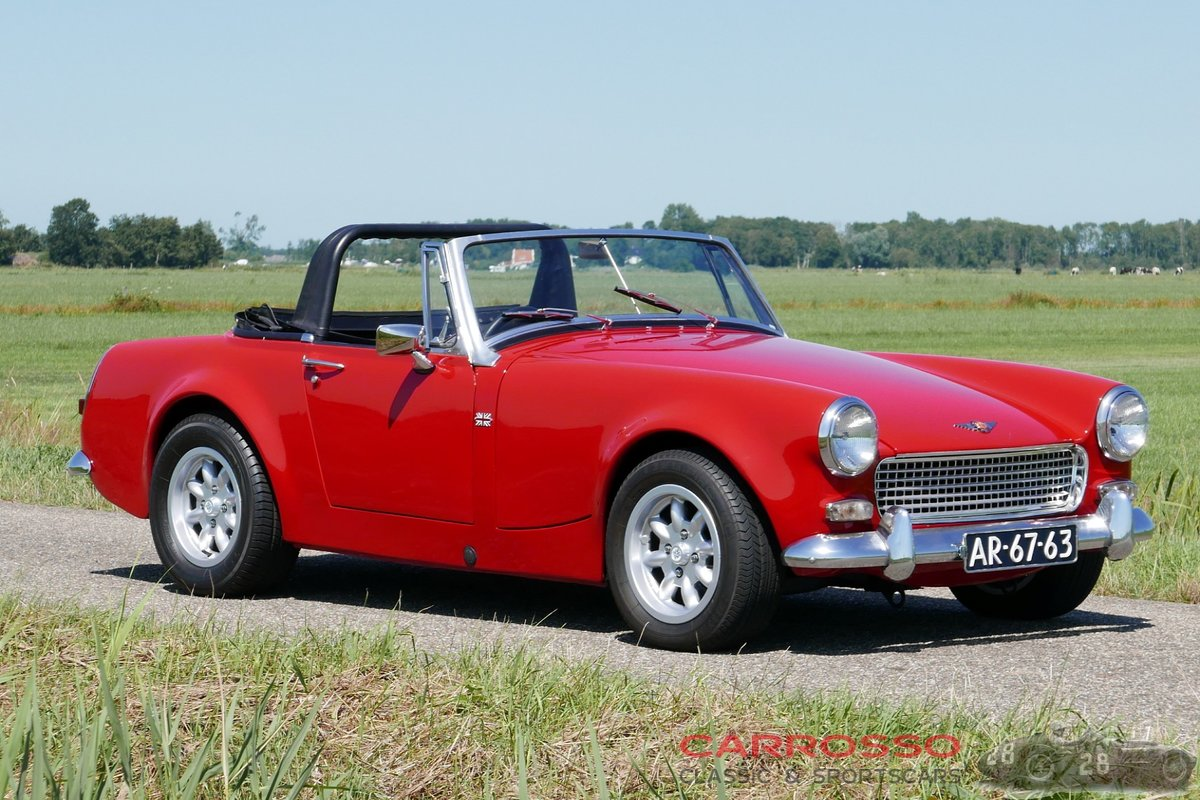 1967 Austin Healey Sprite MkIV Widebody with matching numbers For Sale (picture 1 of 6)