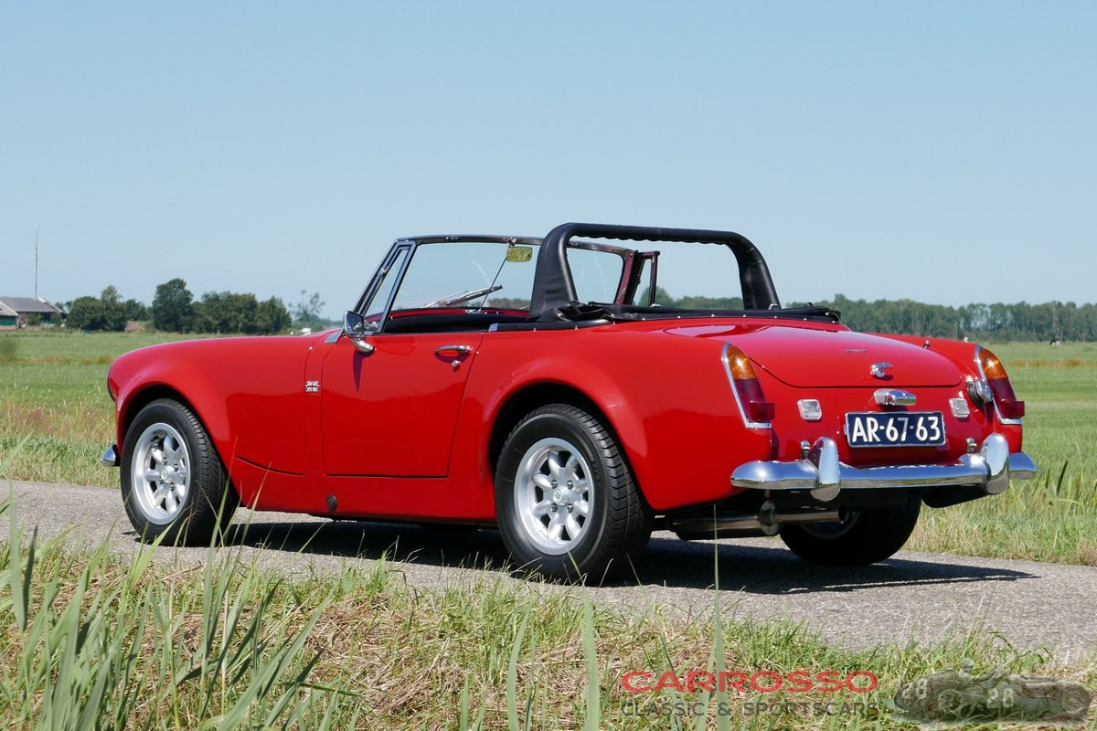 1967 Austin Healey Sprite MkIV Widebody with matching numbers For Sale (picture 2 of 6)