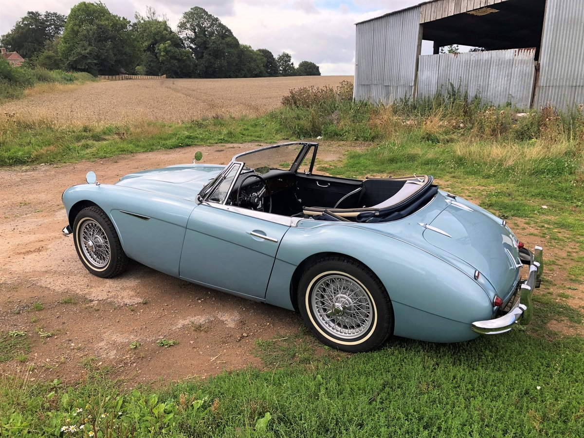 1964 Austin Healey 3000 MKIII BJ8 SOLD (picture 6 of 10)
