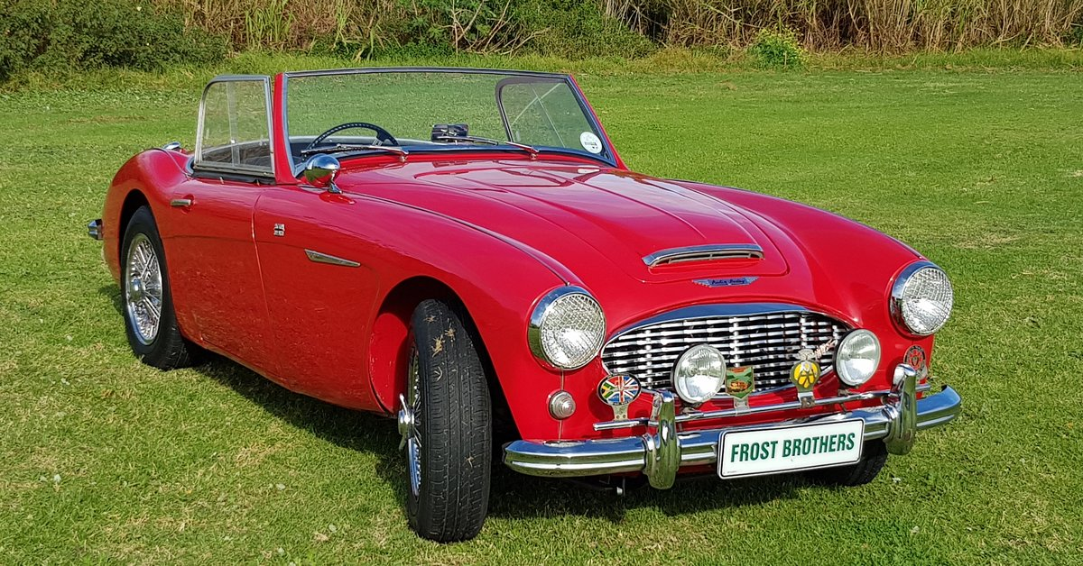 1958 Austin Healey 100/6 BN6 For Sale (picture 1 of 6)