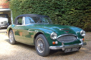 1965 Austin Healey 3000 MK3 Restoration Project SOLD