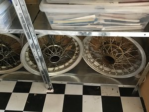 MASERATI 250  FI BORRANI WHEEL COLLECTABLE