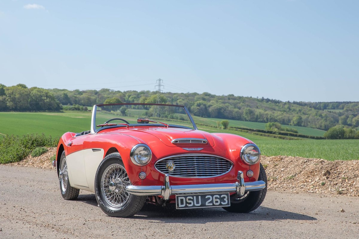 1959 Austin Healey 100/6 BN6 Two-Seater, Rare RHD Roadster SOLD (picture 1 of 6)