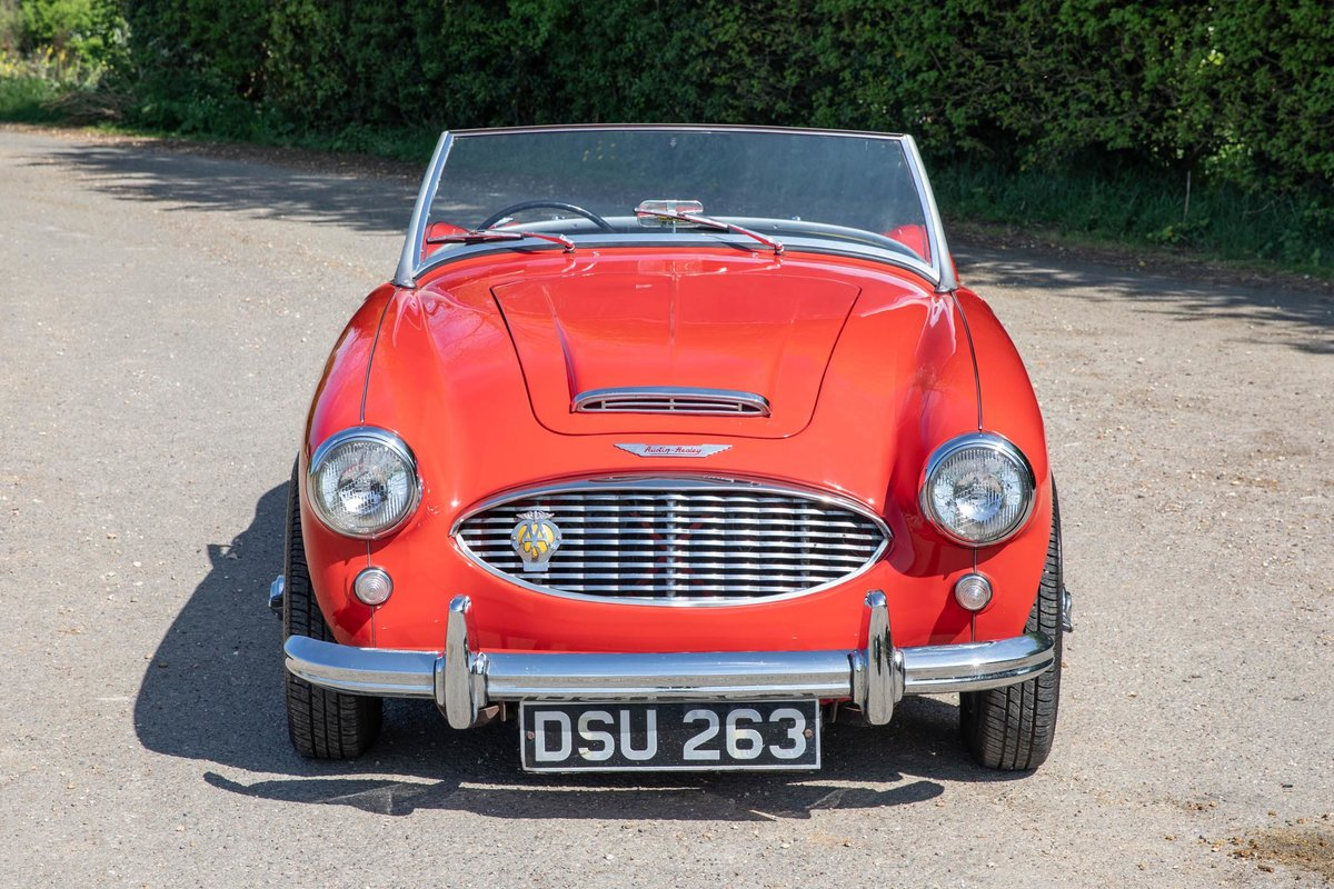 1959 Austin Healey 100/6 BN6 Two-Seater, Rare RHD Roadster SOLD (picture 2 of 6)