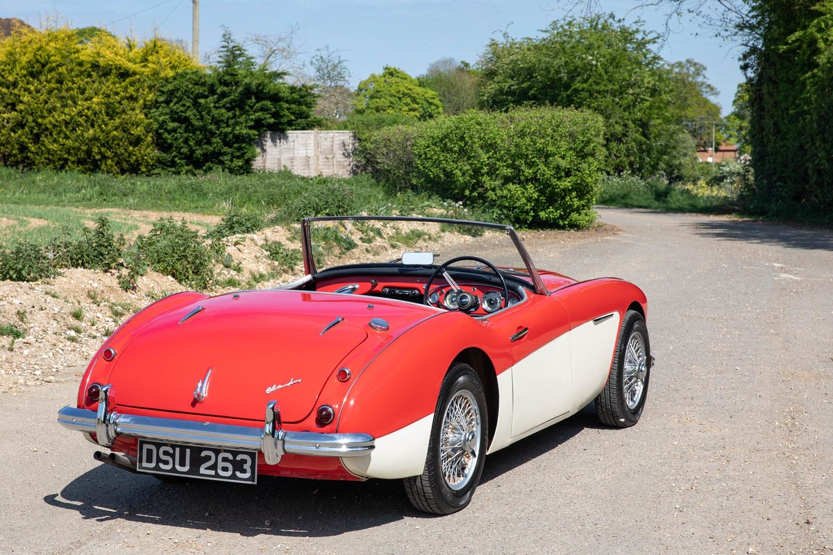 1959 Austin Healey 100/6 BN6 Two-Seater, Rare RHD Roadster SOLD (picture 5 of 6)