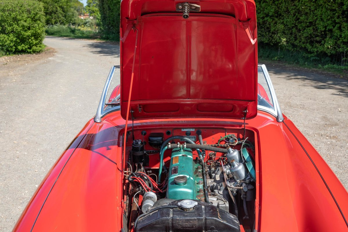 1959 Austin Healey 100/6 BN6 Two-Seater, Rare RHD Roadster SOLD (picture 6 of 6)