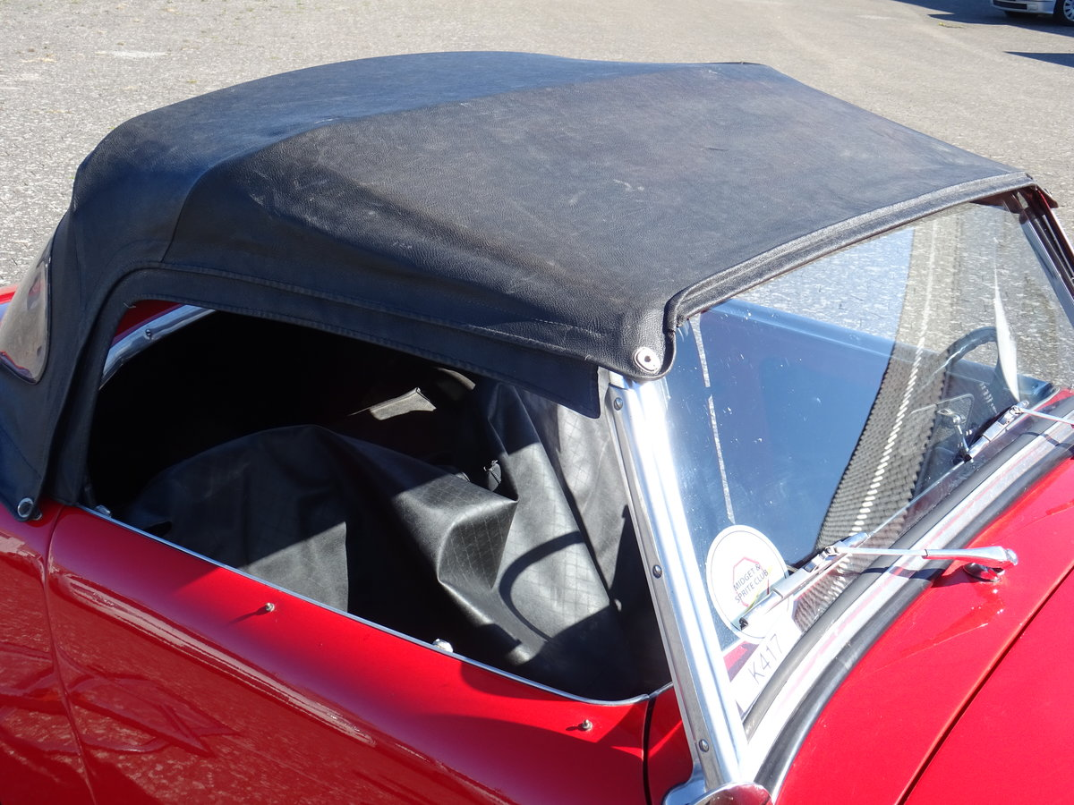 1959 Austin-Healey Sprite Mark I For Sale (picture 18 of 24)