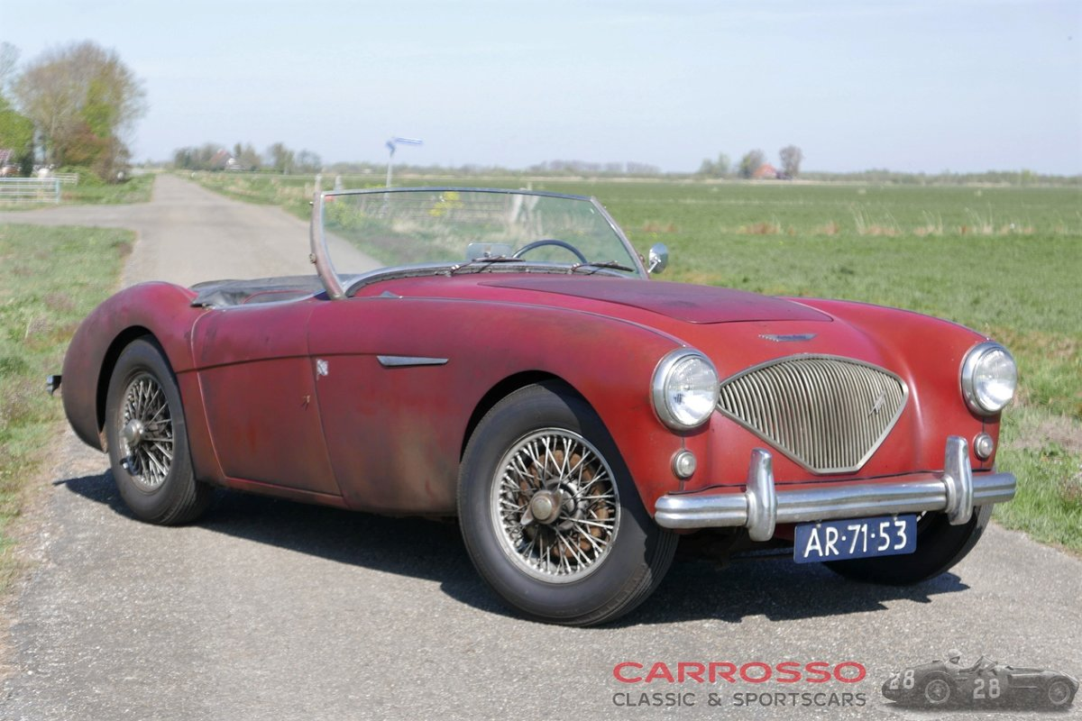 1955 Austin Healey 100 BN1 in absolutely original condition! For Sale (picture 1 of 6)