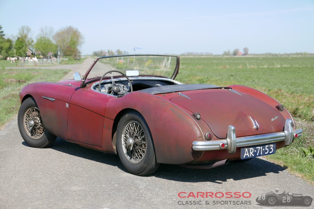 1955 Austin Healey 100 BN1 in absolutely original condition! For Sale (picture 2 of 6)
