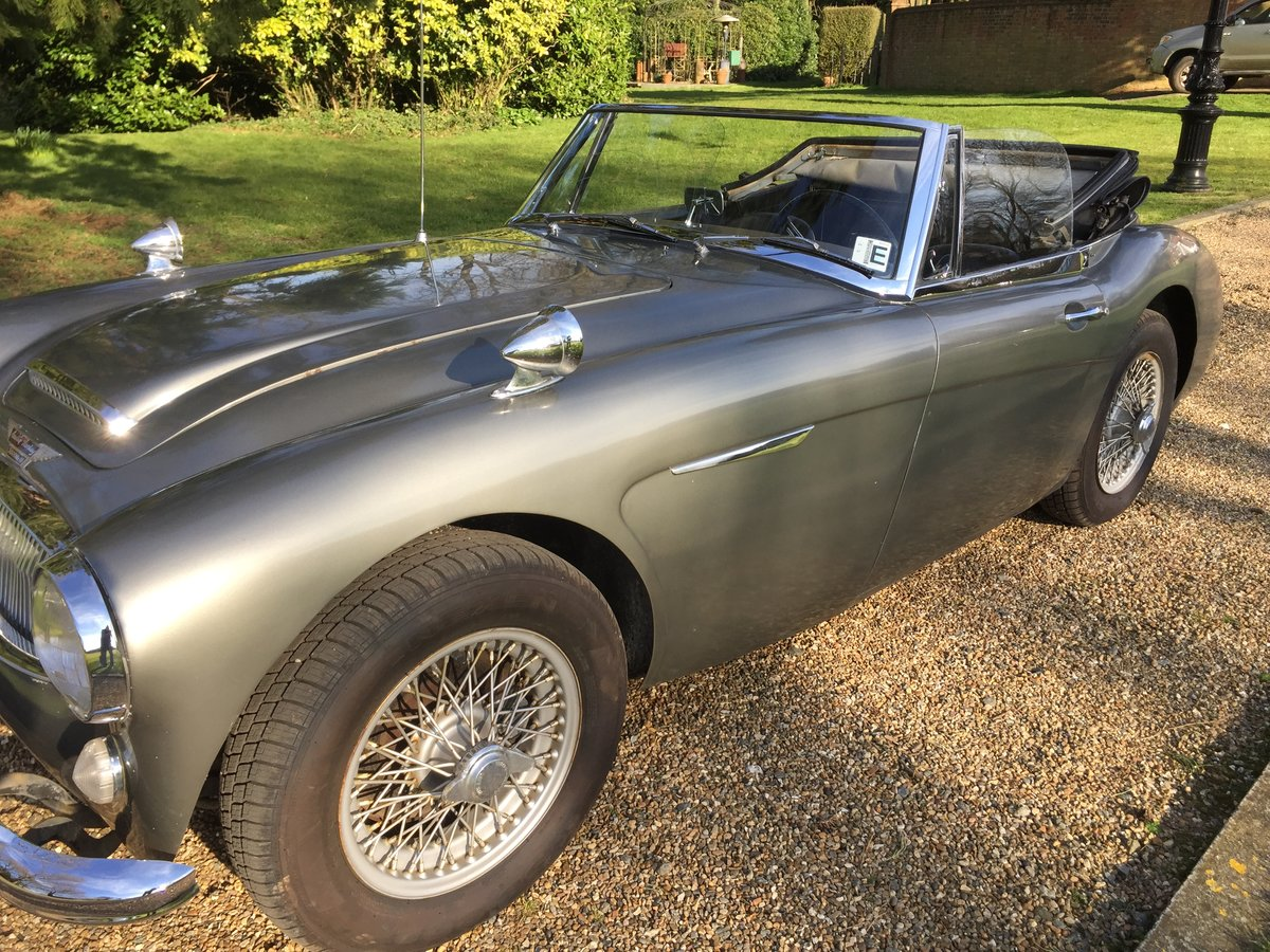 1965 Austin Healey 3000 BJ8 For Sale (picture 5 of 6)