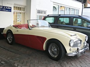 1961 Austin Healey MKII BT7 Tri Carb. UK Car