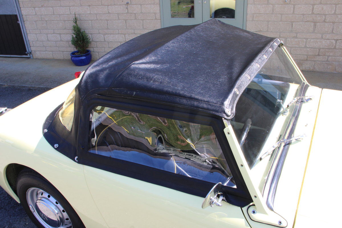 1958 AUSTIN HEALEY FROGEYE (BEST AVAILABLE)  For Sale (picture 5 of 20)