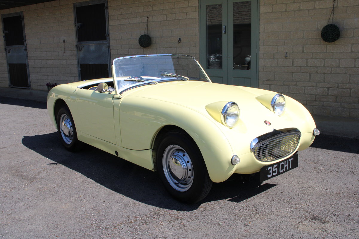 1958 AUSTIN HEALEY FROGEYE (BEST AVAILABLE)  For Sale (picture 6 of 20)