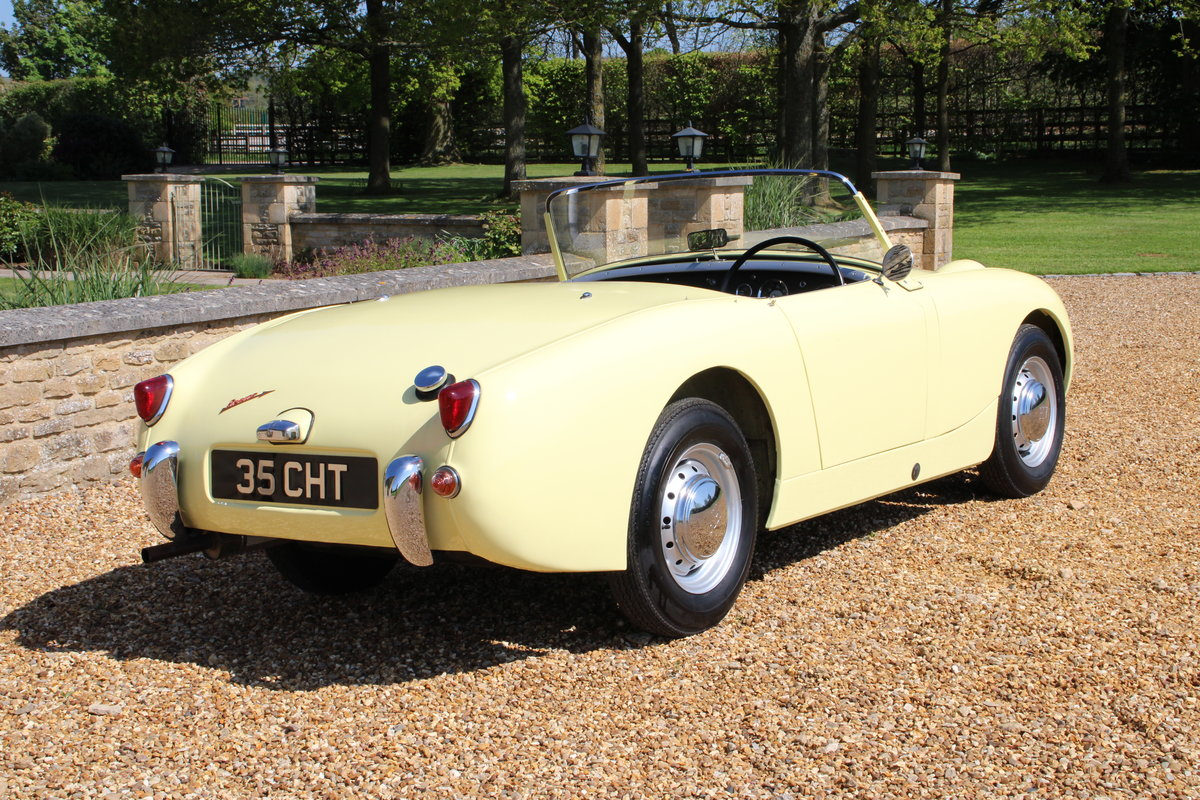 1958 AUSTIN HEALEY FROGEYE (BEST AVAILABLE)  For Sale (picture 9 of 20)