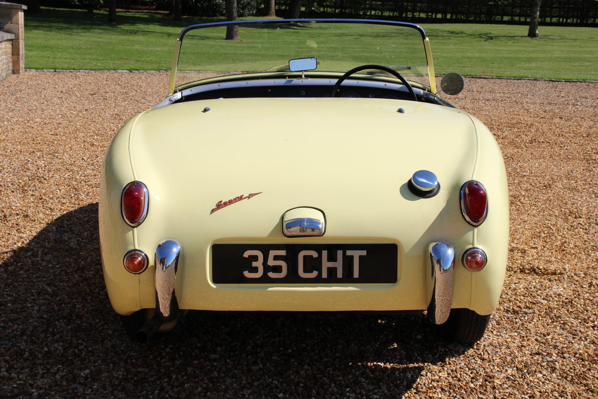 1958 AUSTIN HEALEY FROGEYE (BEST AVAILABLE)  For Sale (picture 10 of 20)