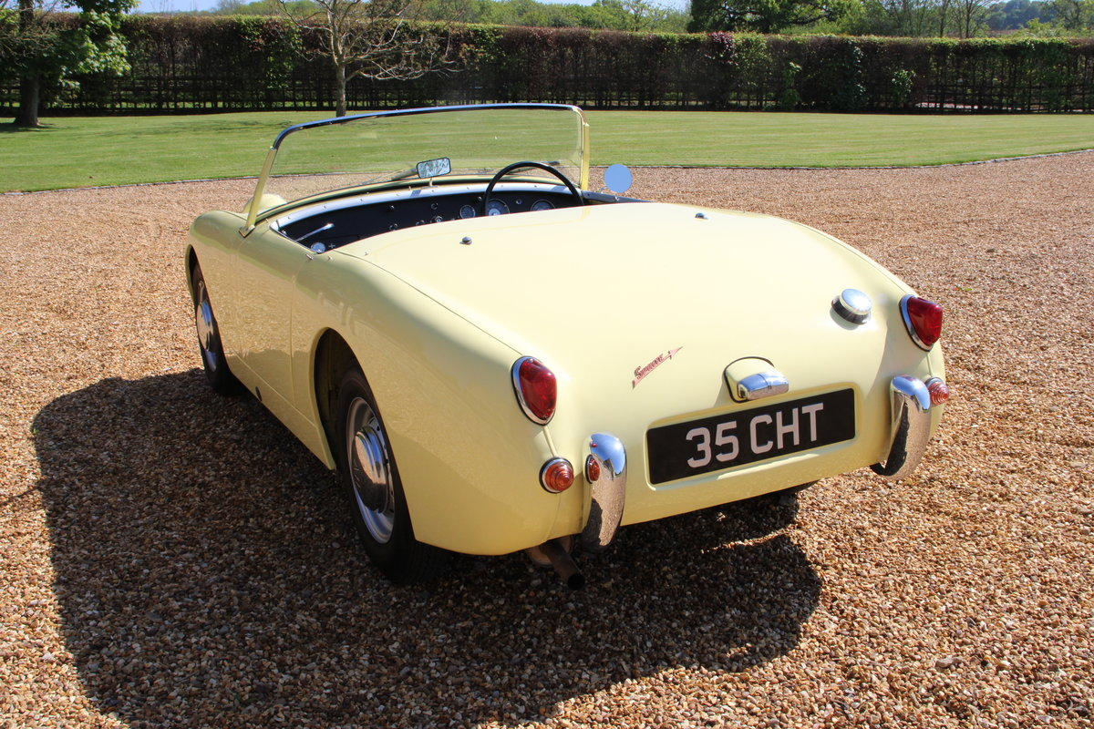 1958 AUSTIN HEALEY FROGEYE (BEST AVAILABLE)  For Sale (picture 11 of 20)