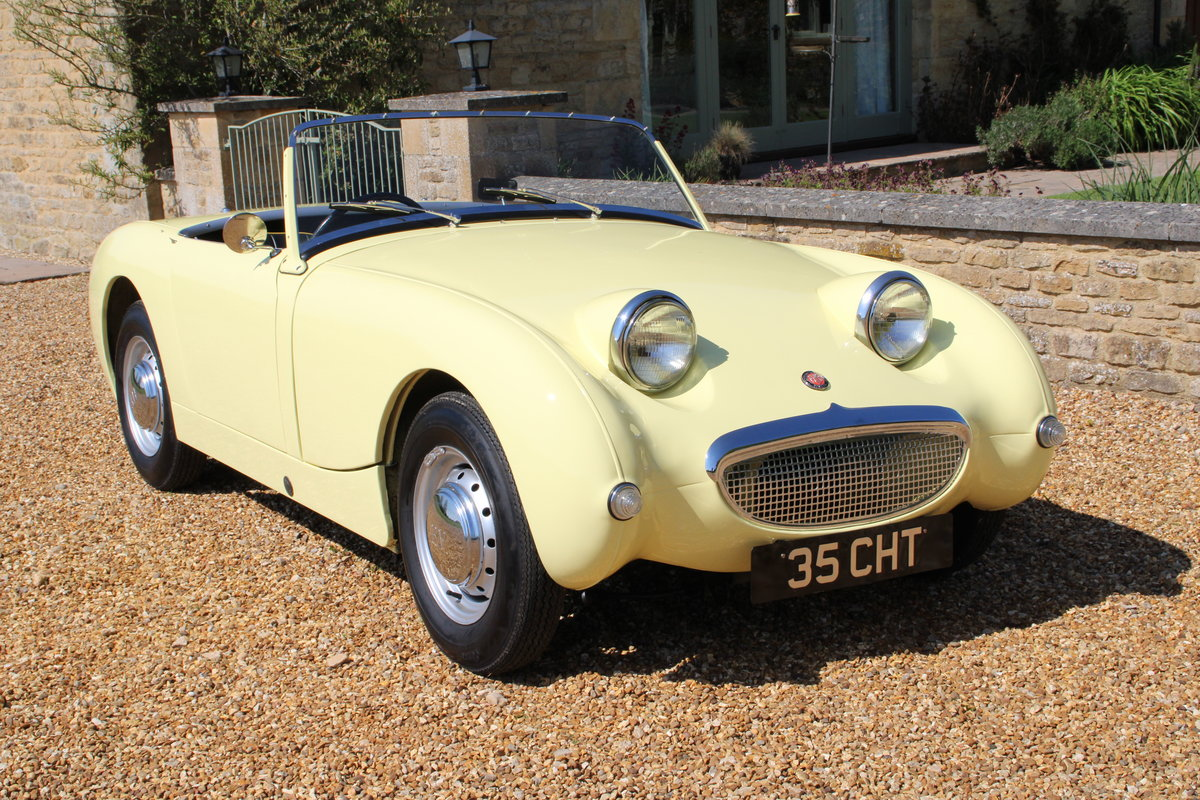 1958 AUSTIN HEALEY FROGEYE (BEST AVAILABLE)  For Sale (picture 14 of 20)
