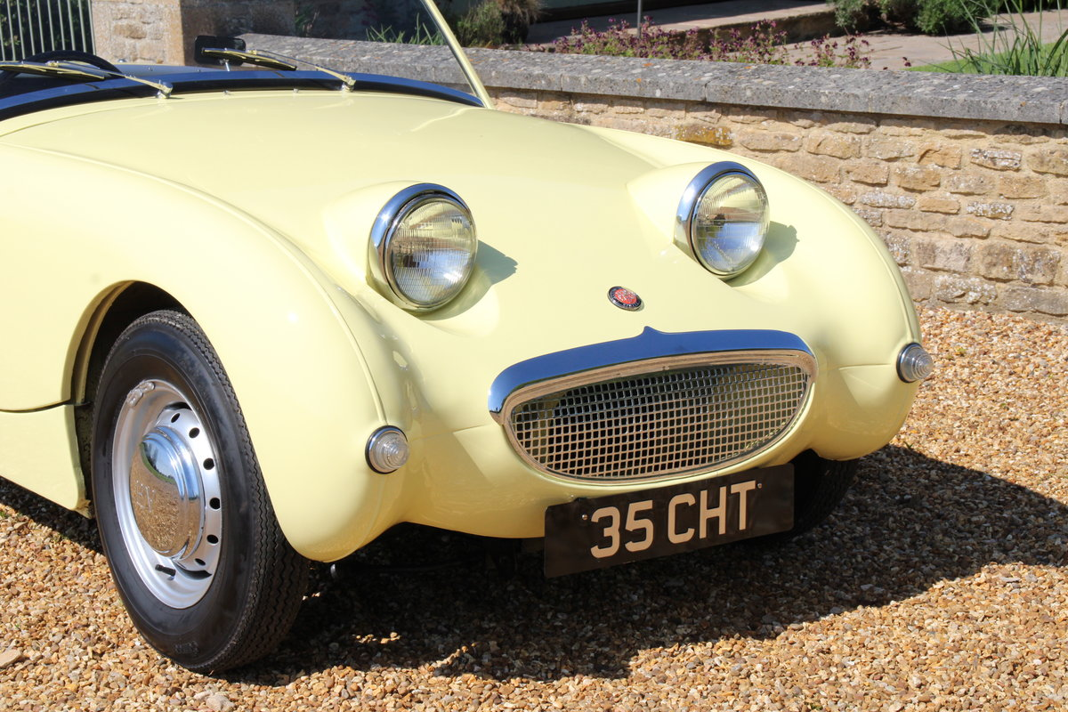 1958 AUSTIN HEALEY FROGEYE (BEST AVAILABLE)  For Sale (picture 15 of 20)