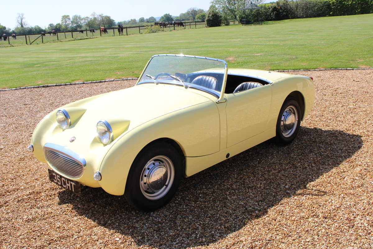 1958 AUSTIN HEALEY FROGEYE (BEST AVAILABLE)  For Sale (picture 17 of 20)