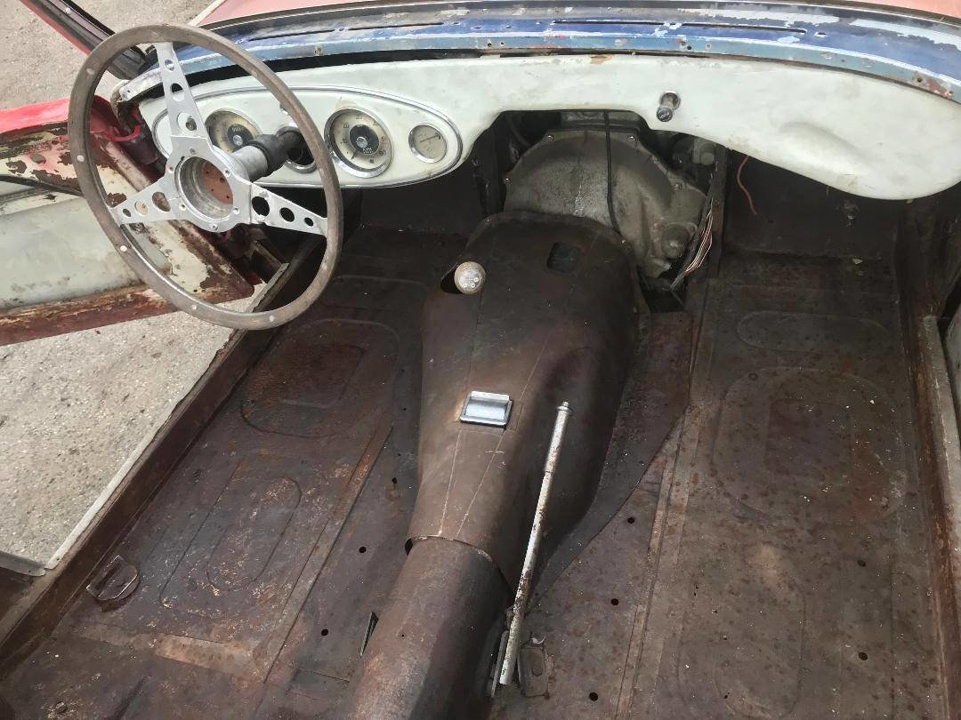 1958 Austin healey 3000 rust free chassis and body for full resto SOLD (picture 2 of 5)