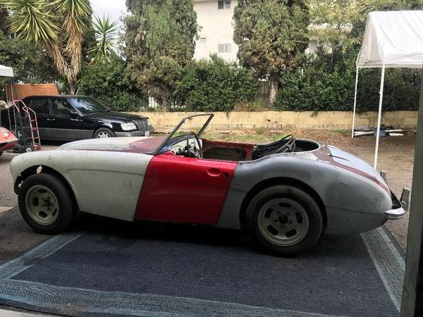 1958 Austin healey 3000 rust free chassis and body for full resto SOLD (picture 5 of 5)