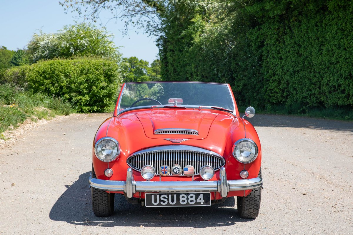 1962 Austin Healey 3000 MkII Tri-Carb, 65,500 Original Miles SOLD (picture 1 of 6)