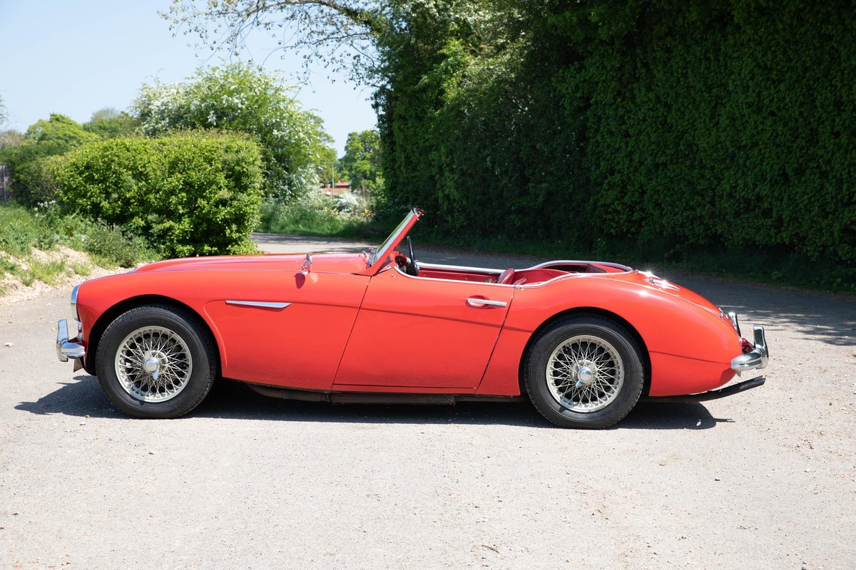 1962 Austin Healey 3000 MkII Tri-Carb, 65,500 Original Miles SOLD (picture 2 of 6)