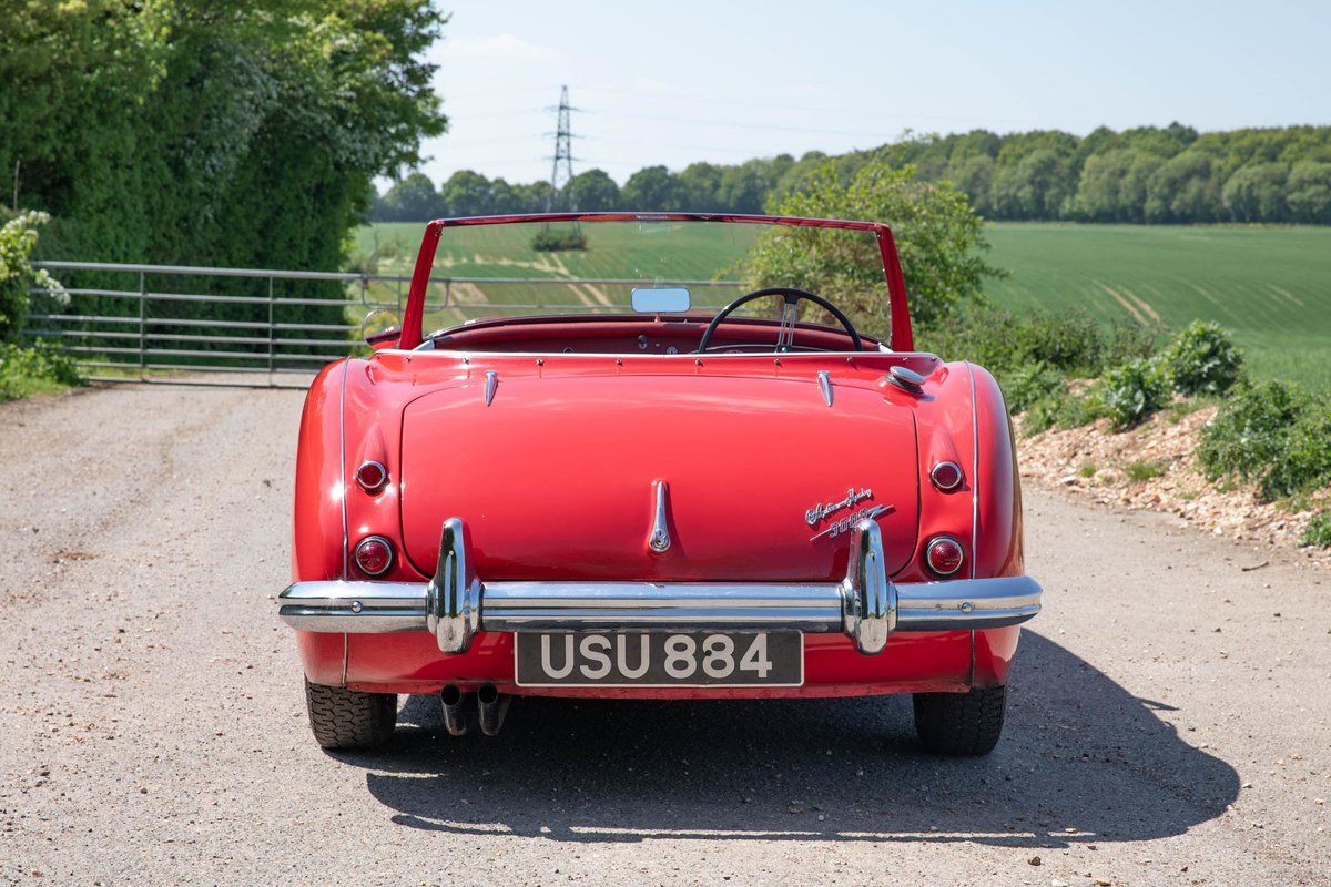 1962 Austin Healey 3000 MkII Tri-Carb, 65,500 Original Miles SOLD (picture 3 of 6)