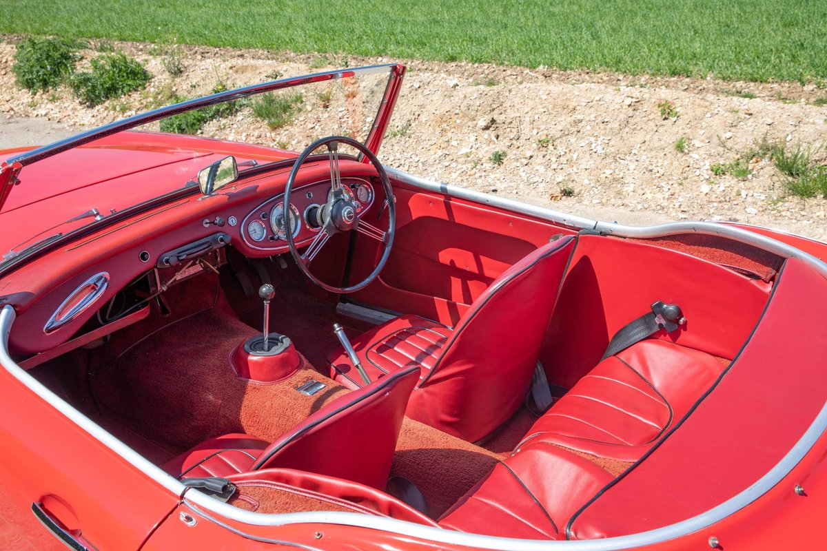 1962 Austin Healey 3000 MkII Tri-Carb, 65,500 Original Miles SOLD (picture 4 of 6)