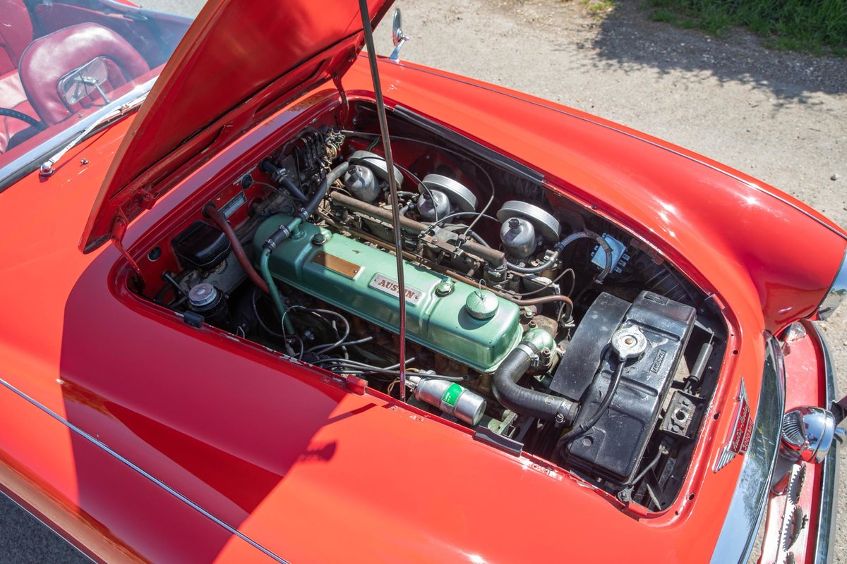 1962 Austin Healey 3000 MkII Tri-Carb, 65,500 Original Miles SOLD (picture 5 of 6)