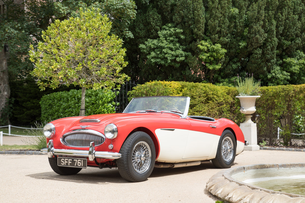 1961 Barn Find Austin Healey 3000 MkII BN7, 1of4 Healey Blue RHD  SOLD (picture 4 of 4)